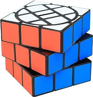 DeeCozy Färgglad kub pennhållare, multifunktionell pennbehållare, för hem kontor klassrum gåva