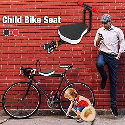 Children's Bikes with Front Foldable Seats Unloadable Ultra-Light with Armrests Suitable for Mountain Bikes Exercise Bikes Hybrid Bikes Electric Bikes