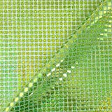 Lime Grün Pailletten in Hologramm quadratisch American