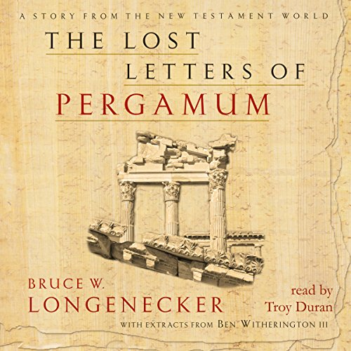 The Lost Letters of Pergamum audiobook cover art