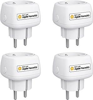 Meross WLAN mini-stopcontact werkt met Apple HomeKit, kleinste smart plug compatibel met Siri, Alexa, Google Assistant en ...