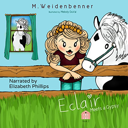 Eclair Meets a Gypsy audiobook cover art