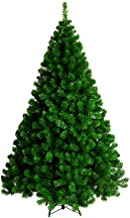 Christmas Tree Green 1.8M 6Ft Decoration 1200 Tips PVC Tree Metal Construction Decoration for Family Store Party Christmas...