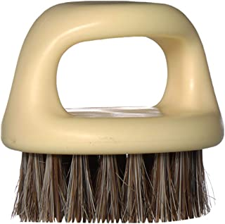 Knuckle Brush (Essential Tool For Professional Barbering & Grooming Services) (Honey Beige)