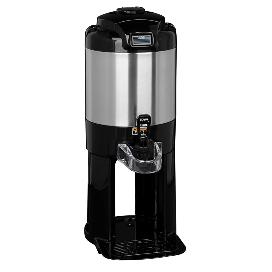 BUNN 42750.0000 1.5 gallon Thermofresh Coffee Server with Base, Black/Stainless