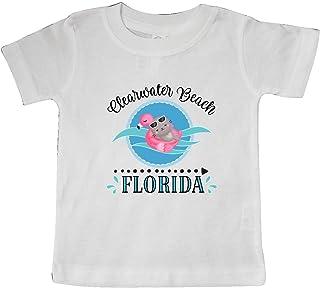 inktastic Clearwater Beach Florida Trip Baby T-Shirt