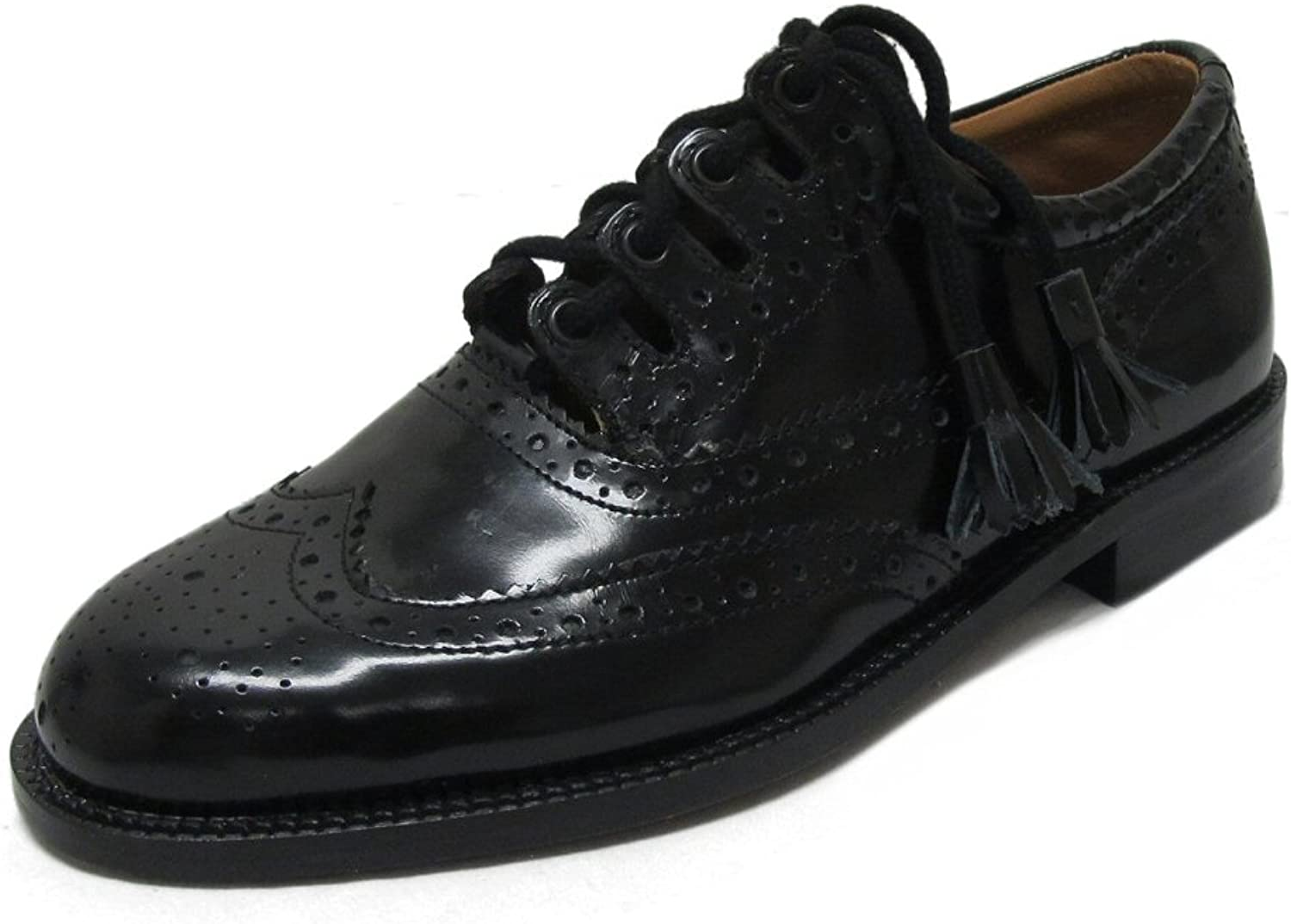 Thistle Brand Mens Leather Ghillie Brogue Kilt shoes
