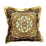 cojín impresión Borla Terciopelo Almohada núcleo decoración del hogar sofá Dormitorio Almohada-E, 50cmX50cm