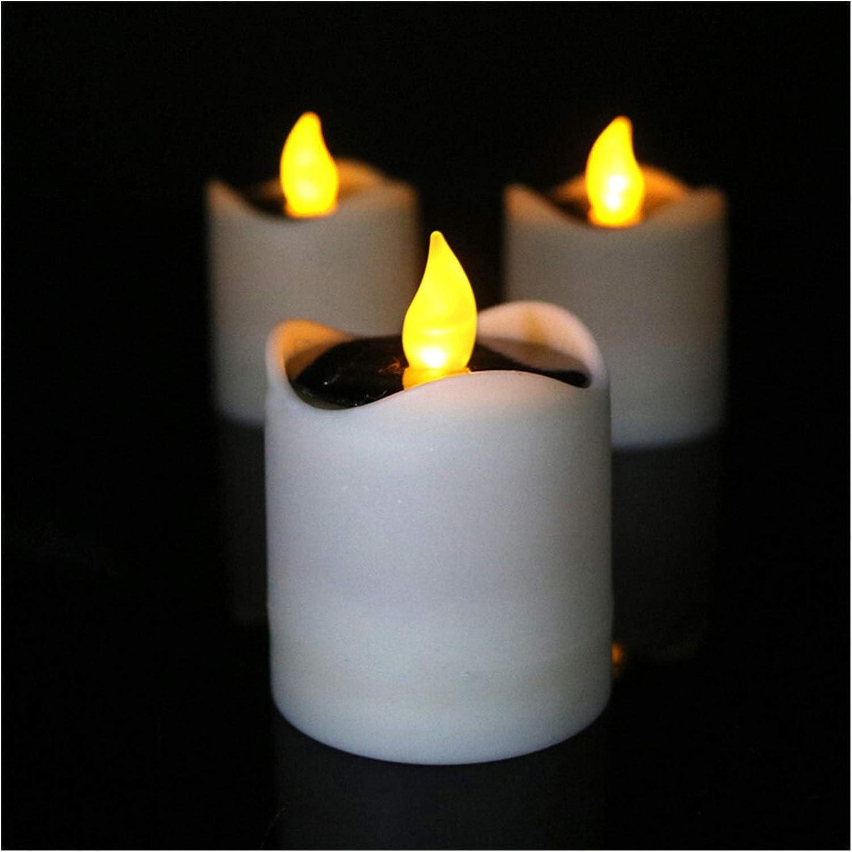 Jgzwlkj Candle Colorado Springs Mall Lights LED Light Flicker Lamp Regular dealer F Tea Yellow
