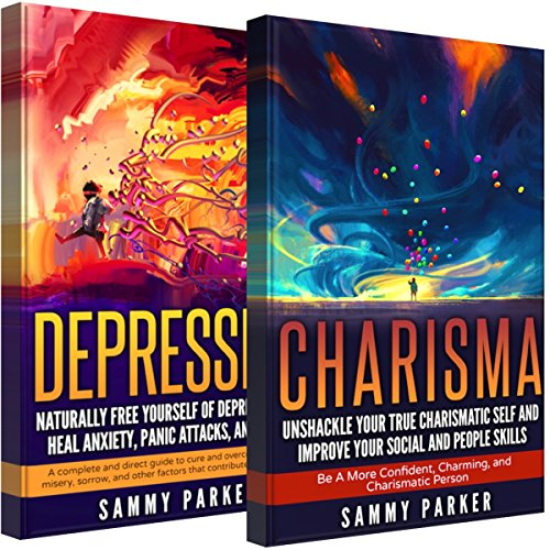 Depression & Charisma: 2 Manuscripts audiobook cover art