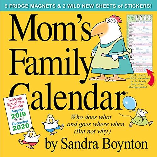 Mom's Family 2020 Calendar