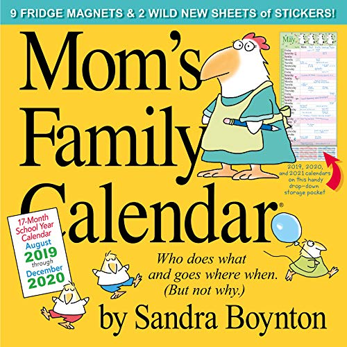 Mom's Family Wall Calendar 2020