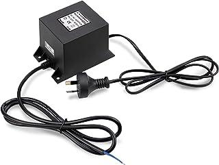 Waterproof 12V AC Transformer 60W, 230V/240V to AC 12V LED Power Supply, Voltage Converter LED Driver,Adapter for Swimming...