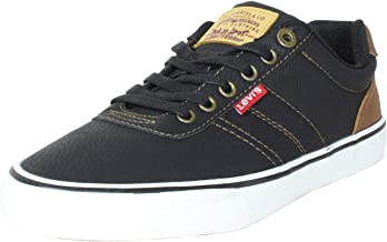 Levi's Mens Miles Tumbled Wx Rubber Sole Casual Fashion Sneaker Shoe