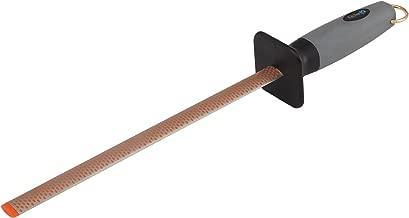KitchenIQ 50031 10 Inch Oval Diamond Sharpening Rod
