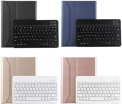 YOUZHA Tastatur Multifunktionale drahtlose Bluetooth-Tastatur Ultrad nne PU-Leder-ABS-Tastatur Abnehmbarer Tablet-Abdeckungs-Halter f r IPad 9 7 10 5 Gold Schätzpreis : 60,24 €