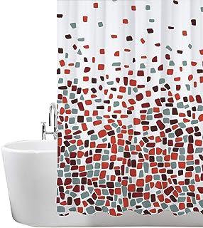 ANSIO Cortinas de Ducha, para baño, bañera, Impermeable,