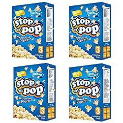 DELICIOUS SNACK ANYTIME – Our salted popcorn is a delicious, gluten-free and whole-grain snack that is perfect for the whole family. A wholesome idea for movie nights. Serve salted popcorn packs alongside your favourite drinks for an added delight. E...