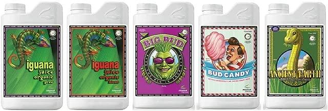 Advanced Nutrients Organic OIM Bundle Package (Iguana Juice Grow & Bloom, Bud Candy Organic, Big Bud Organic & Ancient E
