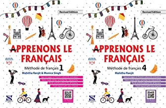 Apprenons Le Francais French Textbook 01: Educational Book + Apprenons Le Francais French Textbook 04: Educational Book (S...