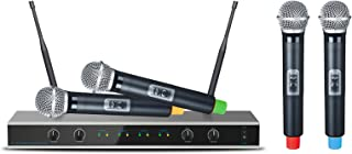 E-Lektron IU-4011 Digital UHF Wireless Microphone System 4x Hand-held Microphone Wireless Set