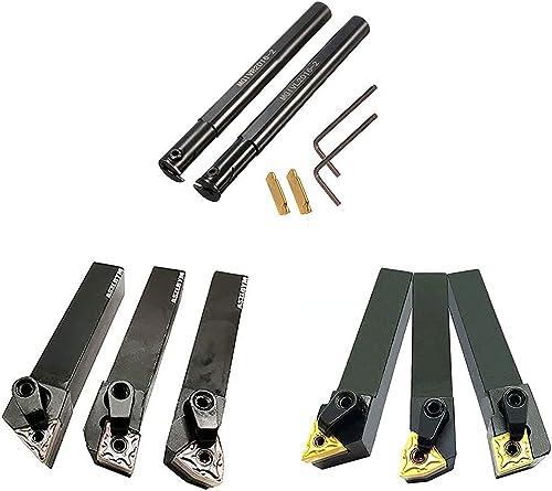 wholesale ASZLBYM Lathe Indexable Carbide Turning Tool Holder Set MGIVR2016-2 MGIVL2016-2 MTJNR1616H16 MWLNR1616H08 MCLNR1616H12 MTJNL1616H16 MWLNL1616H08 outlet online sale MCLNL1616H12 with Indexable lowest Carbide Inserts outlet sale