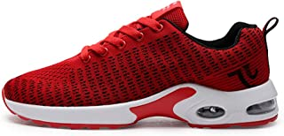 SKLT Couple Ultra Light Air Cushion Running Shoes Men Women Sneakers Breathable Mesh Soft Stripe Sport Shoes Jogging Fitness Trainers