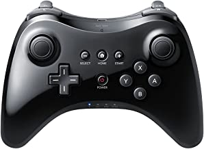 QUMOX Controlador de mano Wireless Gamepad Joypad Remoto Mando de juego para Nintendo Wii U Pro