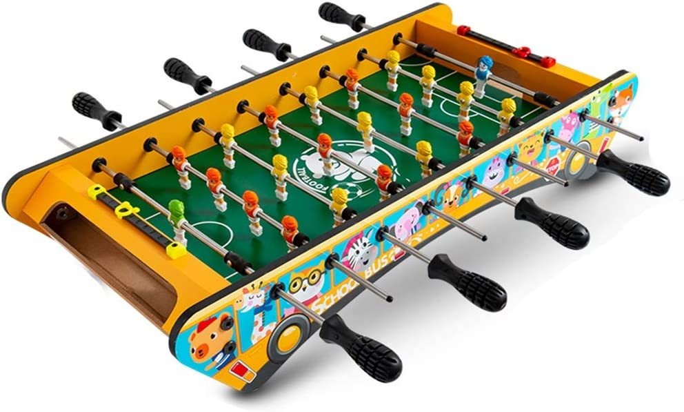 Table Soccer Children's Table Football Machine Wooden Table Foot