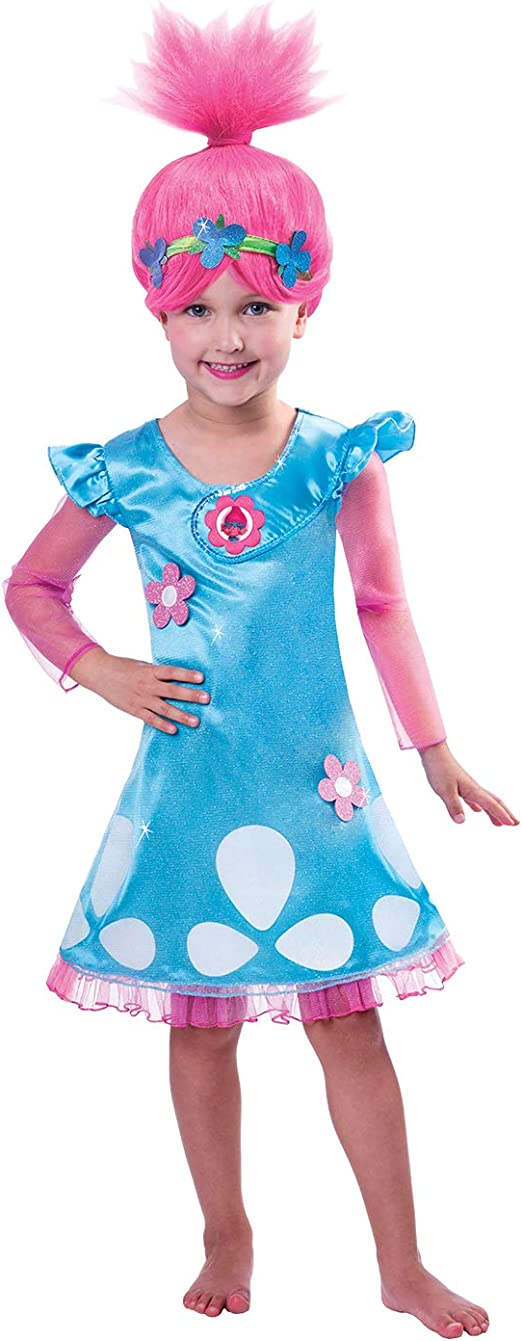 Poppy Mascot Costume Trolls Princess Parade Halloween Cosplay Dress Adult Outfit