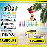 MiamiLife Advanced Workout-DVD zum Fitness Tramoplin - Trainings-DVD für Fortgeschrittene