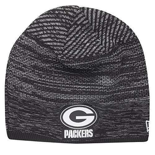 New Era TECH Knit Wintermütze NFL Beanie - Green Bay Packers