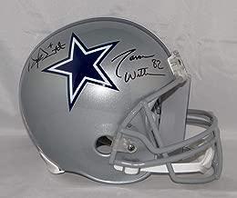 Dak Prescott Jason Witten Dallas Cowboys Signed Autograph Proline Authentic On Field Full Size Helmet Witten 82 Hologram Dak Hologram & JSA Witnessed Certified