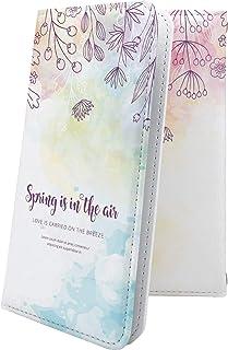 ケース isai V30+ LGV35 互換 手帳型 花柄 花 フラワー 小花 水彩 カラフル イサイ プラス 女の子 女子 女性 レディース isaiv30 plus デザイン イラスト