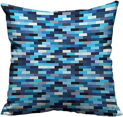 Amazon.com: Bedsure Fundas de almohada coloridas Retro ...