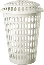 Princeware Viva Big Laundry Basket with Lid Having Capacity of 62Ltr Available in Ceramic Color
