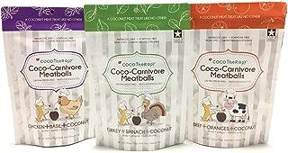 CocoTherapy Coco-Carnivore Meatballs Dog Treats
