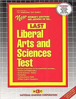 Liberal Arts & Sciences Test (LAST) (Admission Test Series (ATS))