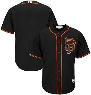 San Francisco Giants Alternate Black Cool Base Majestic MLB Jersey