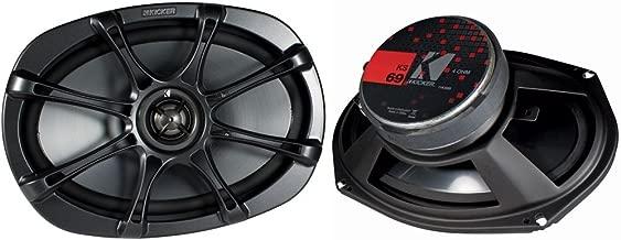 Kicker 11KS69 6x9 Coaxial Speakers