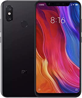 Xiaomi Mi 8, 6-64GB, Unlocked, Global Version (Black)