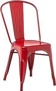 SKLUM Chaise LIX Rouge - (Plus de Couleurs)