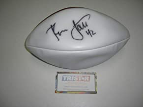 Ronnie Lott Autographed Football - Sanfrancisco hof Doesnt Hold Air coa - Tristar Productions Certified