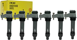 DEAL 6x New Ignition Coil Fit 07-19 Cadillac/ 08-19 Chevrolet/ 07-08 & 10-17 GMC/ 81 & 08 & 10-19 Buick/ 05-10 Suzuki/ 07-10 Saturn/ 07-09 Pontiac/ 10-11 Saab V6 With OEM Number GN1049412B1 UF569