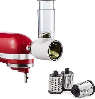 Accessoire de Déchiqueteuse de Trancheuse pour KitchenAid Batteur sur Socle, Remplace les Accessoires de Déchiqueteur Kitc...