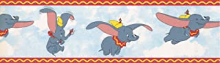 "Dumbo The Elephant Wallpaper Border 7"" x 15' 41262410"