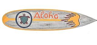 Surf Board 100/cm decorazione Flip Flop Zone tavola im Tiki Beach Style Hawaii