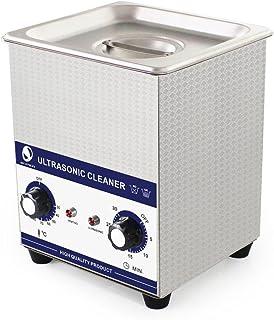 プロが認める超音波洗浄マシン 時計・メガネ 洗浄かご付き 1600ml 60W