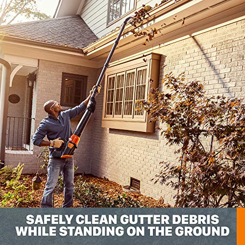 WORX WA4092 Universal Gutter Cleaning Kit for Leaf Blowers
