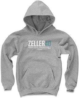 500 LEVEL Cody Zeller Charlotte Basketball Kids Hoodie - Cody Zeller Zeller40